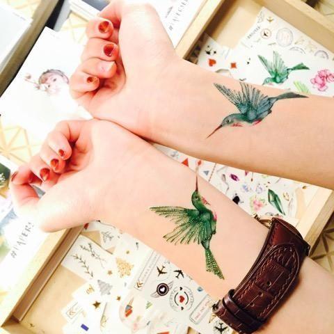 Tatuaże 2 Opakowania Papaerself Wzory Naklejane