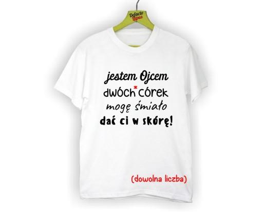 Zabawna Koszulka Dla Taty Corek Dzien Ojca Prezent 7435157026 Allegro Pl