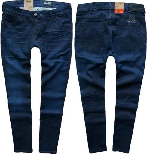 8307e18d72dc6 WRANGLER LARSTON jeansy SCRAMBLED X rurki W32 L32 7314263672 ...