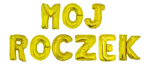 Balon Girlanda Baner Napis Mój Roczek Dekoracje 1 6892548974