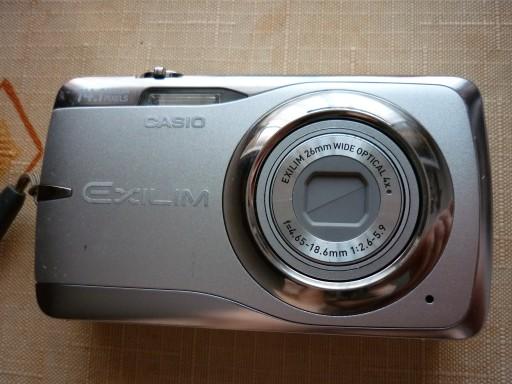 Casio Exilim EX-Z550 uszkodzony