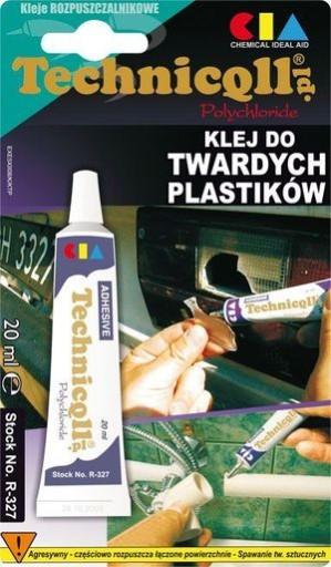 TECHNICQLL KLEJ DO TWARDYCH PLASTIKÓW PLASTIKU
