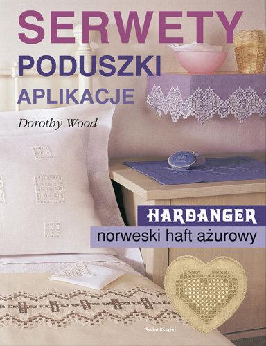 Serwety Poduszki Aplikacje Haft Hardanger