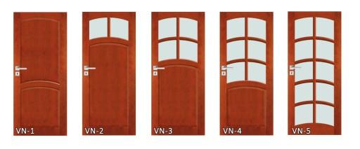 Drzwi Drewniane Z Ościeżnicą Do łazienki Vn3 80