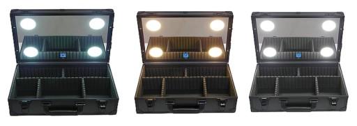 Kufer Walizka Do Makijażu Oświetlenie Led Make Up Tani