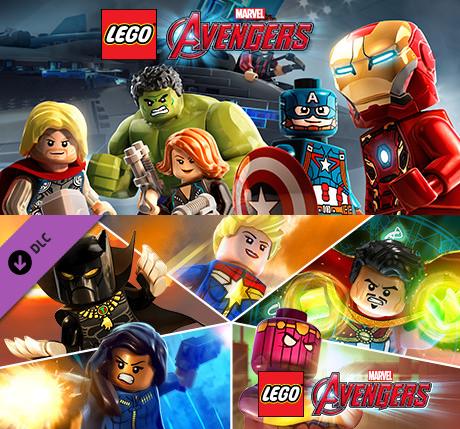 Lego Marvels Avengers Deluxe Edition Pl Bonusy 3489 Zł Stan