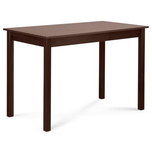 Stół Drewniany Orzech 110x60 Nowoczesny Do Jadalni 7657098707