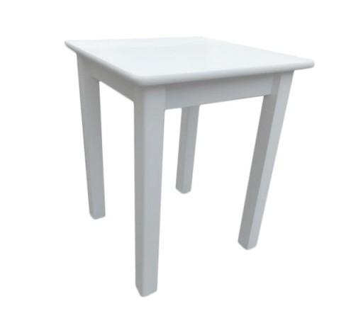 Stół Kuchenny Biały 60 X 60 Stoły Na Wymiar
