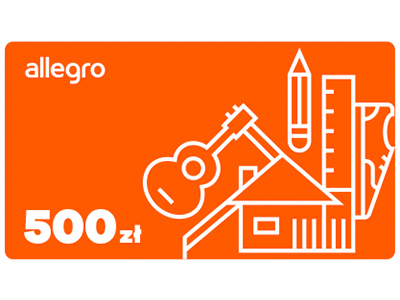 Karta Podarunkowa Allegro 500 Zl 5838149885 Allegro Pl