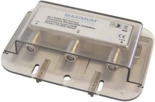 Przełącznik Maximum DiSEqC 2/1 HEMM