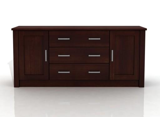 DSI-meble: Komoda drewniana sosnowa FADO 2D/3S XL