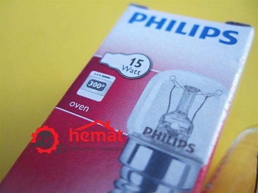 PHILIPS 2x ŻARÓWKA PIEKARNIKA LAMPKA 15W E14 300C