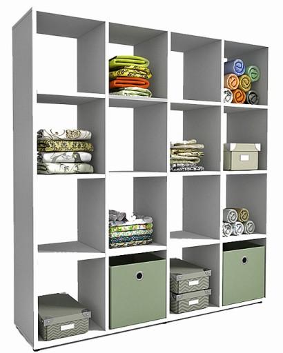 Regał Na Pościel Ręczniki Ubrania Garderoby Ikea