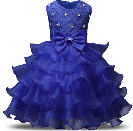 e560c55e4d Piękna Sukienka Druhna Wesele Komunia 134 6834642679 Allegropl
