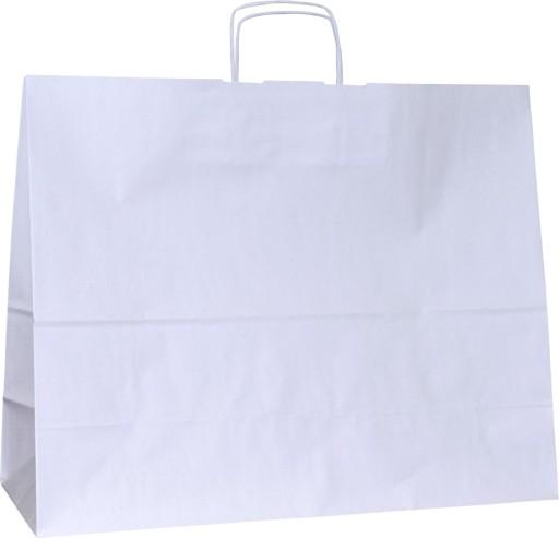 10c2509b85ed7 Torba papierowa biała 50x18x39 500x180x390 kurtka 7617073848 - Allegro.pl -  Więcej niż aukcje.