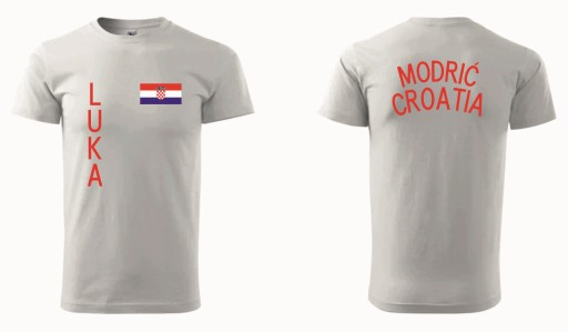 cb7c7797d CHORWACJA , koszulka LUKA MODRIĆ size 152 a 7464313208 - Allegro.pl