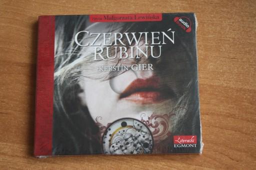 Kerstin Gier Czerwien Rubinu Audio Cd Mp3 14 99 Zl Allegro Pl Raty 0 Darmowa Dostawa Ze Smart Warszawa Stan Nowy Id Oferty 7481897472