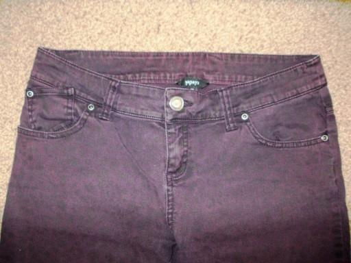 Spodnie jeansowe w panterkę Papaya ( 38 )