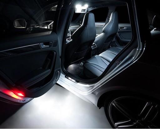 Led Oświetlenie Wnętrza Audi A2 A3 8p A4 B6 B7 B8