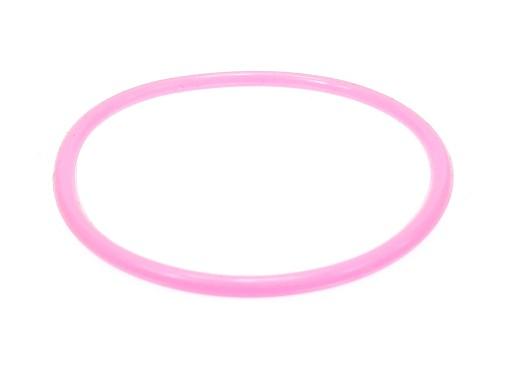 B429-4 Bransoletka bangle kolor jasnoróżowy