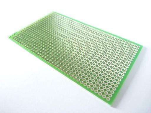 Płytka uniwersalna U-017 - 100x60 [mm] wiercona