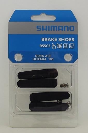 Okładziny SHIMANO R55C3 Dura Ace,Ultegra, (2 pary)