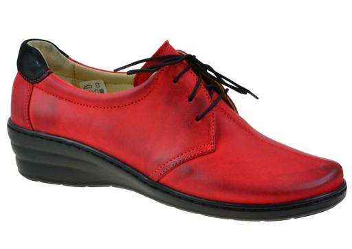 d1b08b0150f8e Półbuty WASAK 0462 czerwony 38 skóra 7563428116 - Allegro.pl - Więcej niż  aukcje.