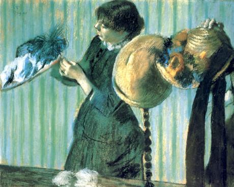 Edgar Degas Małe modystki