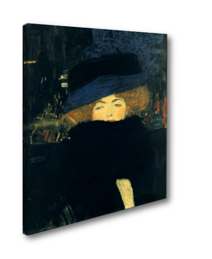 Gustav Klimt Dama w kapeluszu i boa z piór