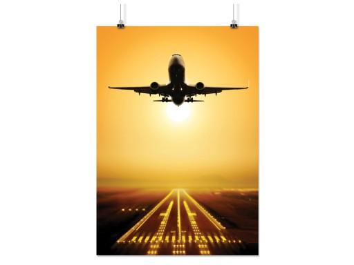 Plakat Samolot Samoloty 90x60cm 10 Wzorów Matowy