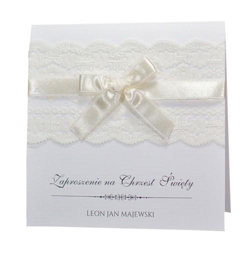 Zaproszenia Chrzest Komunię ślub Z Personalizacją 6940678068