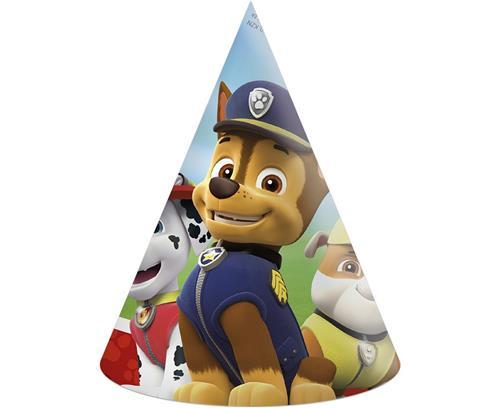 Czapeczki Urodzinowe Psi Patrol 6 Szt 7584746016 Allegropl