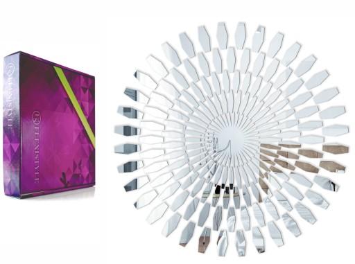 Piękne Lustro Dekoracyjne Akrylowe Daisy 60 Cm
