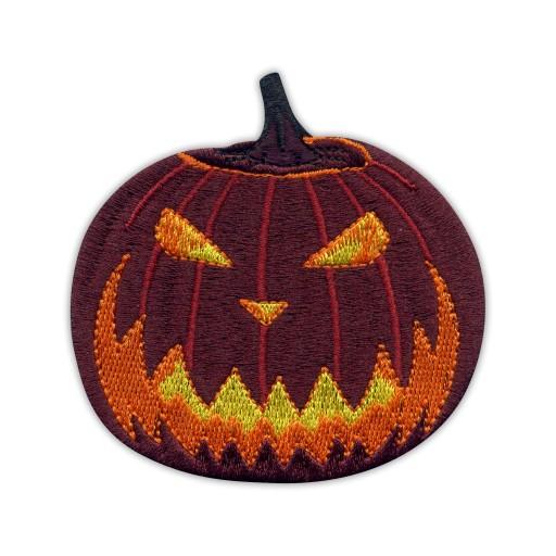 Naszywka - Przerażająca dynia Halloween PUMPKIN