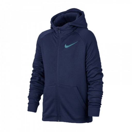 Bluza NIKE Dry HOODIE Junior 856135 429 152 cm