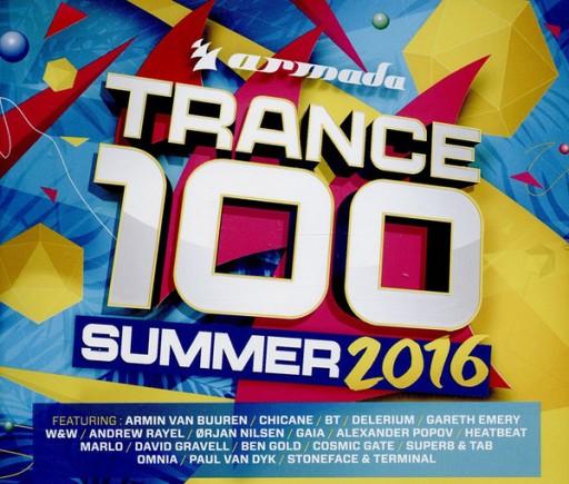 Trance 100 - Summer 2016 4xCD