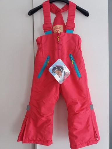 Nowe 5 10 15 Spodnie narciarskie niemowlęce r.86