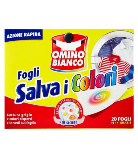 Omino Bianco saszetki zapobiegające farbowaniu 20s