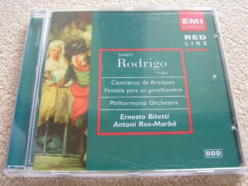 RODRIGO - CONCIERTO DE ARANJUEZ (CD).U3