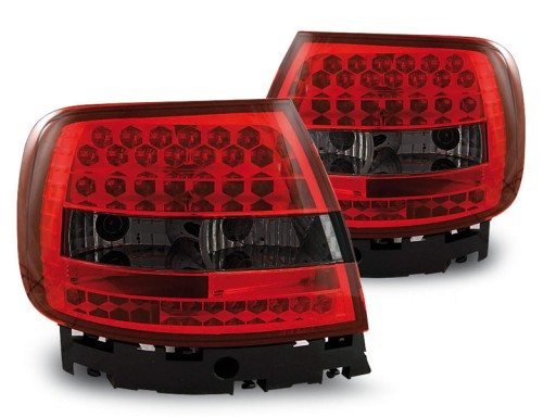 AUDI A4 B5 94 01 SEDAN LAMPY TYŁ SMOKE LED TUNING