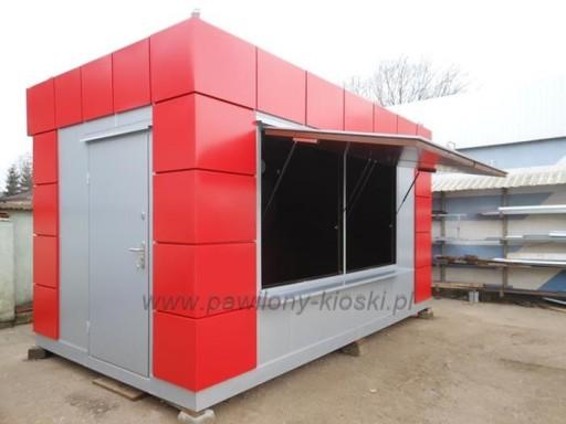 W superbly kontener kiosk gastronomiczny budka do lodów 7313036670 - Allegro.pl MW15