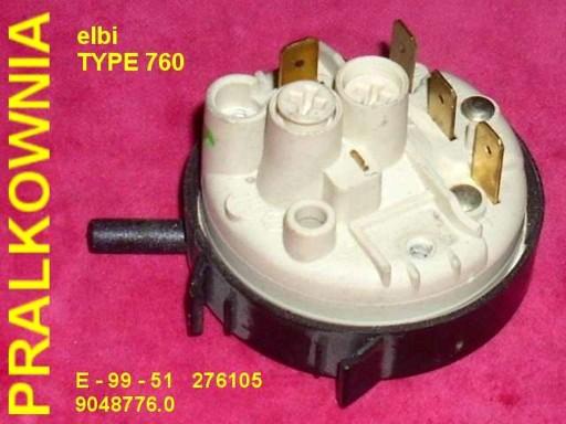 HYDROSTAT ELBI typ 760 276105 (Candy)