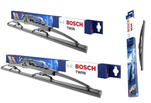 Wycieraczki Bosch Przod Tyl Ford Fusion 2002 2012 Szczecin Allegro Pl