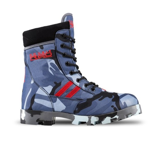 Buty DOUBLE RED Red Jungle Black/Blue Camo rozm.37