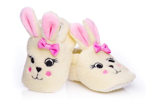 Ciepłe buciki niemowlęce r. 6-12 miesięcy dł.12 cm