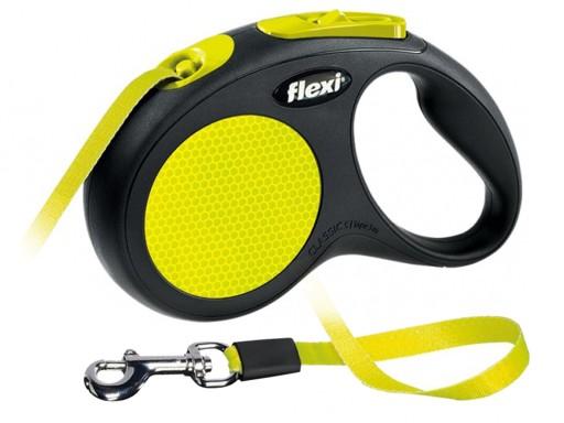 Flexi Neon Smycz Automatyczna Dla Psa Tasma S 6830405752 Allegro Pl