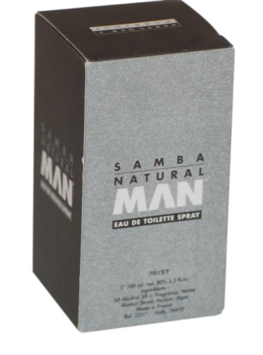 perfumer's workshop samba natural man