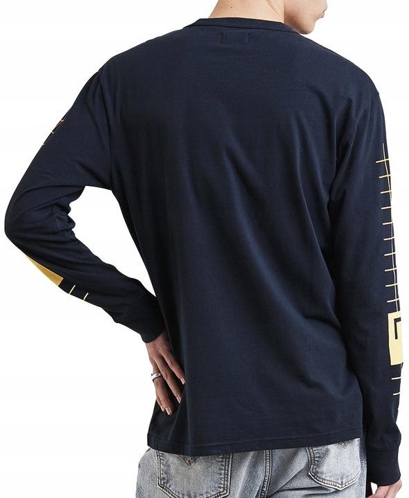 LEVI'S skateboarding 0009 GRANATOWY long sleeve L 7735187237 Odzież Męska Koszulki z długim rękawem TJ CAJFTJ-5