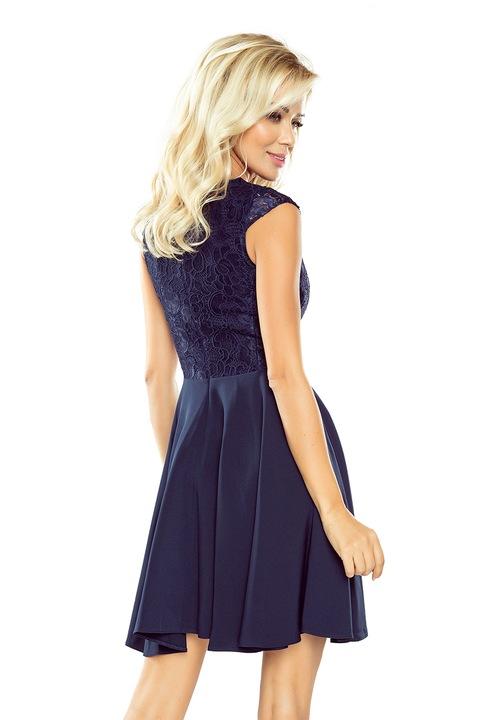 ELEGANCKA Sukienka BALOWA NA KARNAWAŁ 157-1 L 40 8709807042 Odzież Damska Sukienki wieczorowe JM WURAJM-5