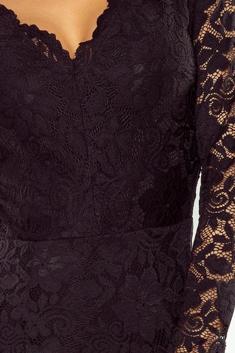 NUM 170-1 Sukienka z koronki nie tylko WESELE 40 7040679542 Odzież Damska Sukienki wieczorowe LK ROIRLK-3
